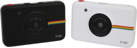 Polaroid SNAP, vit och svart gruppbild