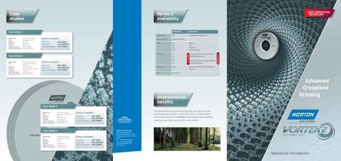 Ny slibeskive til planslibning og dybdeslibning øger produktiviteten. Brochure