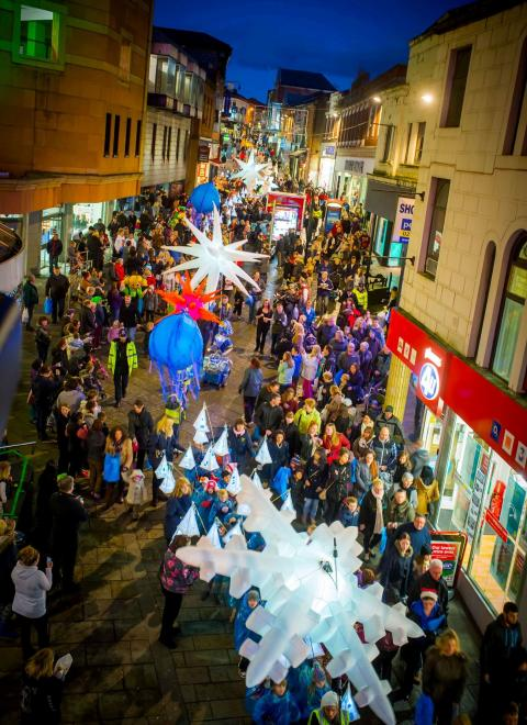 Rochdale town centre Christmas events are a firm favourite