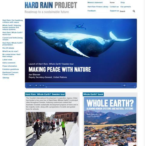 Helsingborg välkomnar fotoutställningen Hard Rain: Whole Earth?