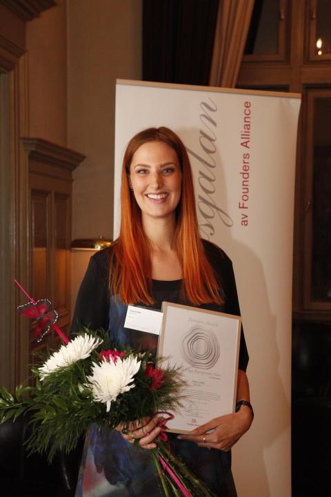 MinFarms grundare Anna Lynam utsedd till Årets Unga Entreprenör Norr