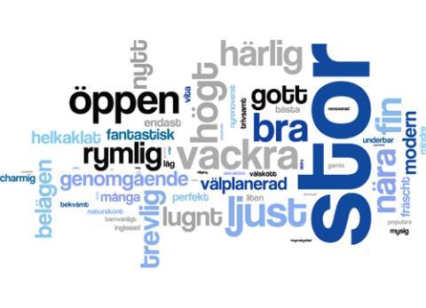 Mäklarspråket 2011: Känsla och livsstil viktigare än praktiskt och pris