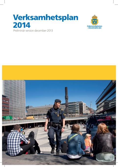 Verksamhetsplan 2014 Polisstyrelsen