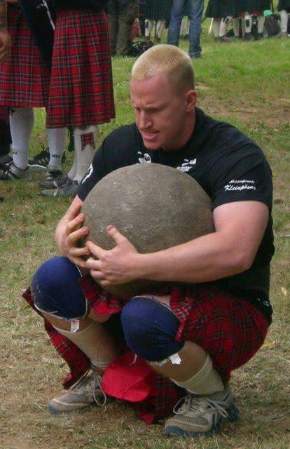 Starke Männer kämpfen für Bärenherz – Highland Games Prießnitz