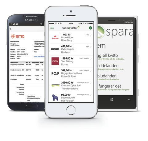 Sparakvittot App