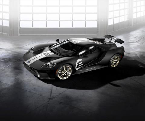 Vindtunnel hjälper till att utveckla Ford GT och dess aerodynamiska egenskaper