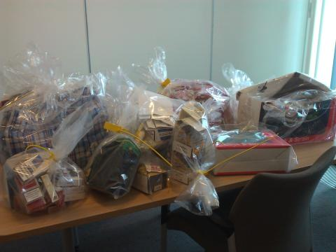 Illicit tobacco seized from local shops