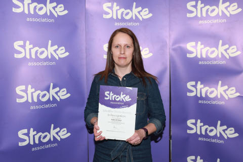 Cheshire stroke survivor receives regional recognition