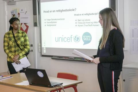 Rettighedsskoler: Viden om Børnekonventionen skaber trivsel hos elever