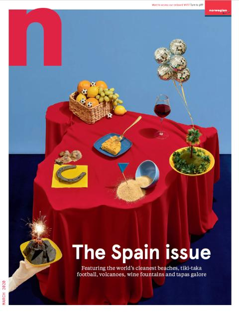 N by Norwegian - The Spain issue - March 2020