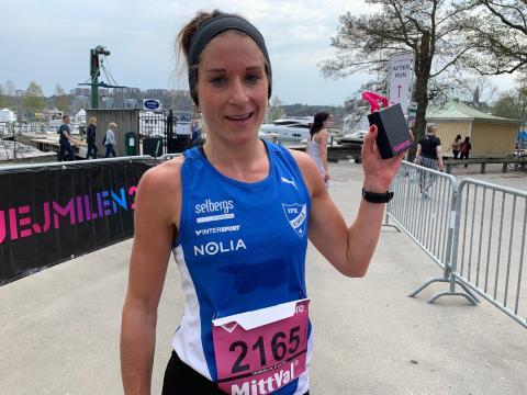Charlotte Andersson vann Tjejmilen 21K för andra året