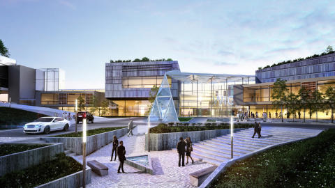 Funding agreed for £83.7M International Convention Centre in Wales