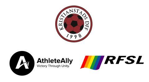 Kristianstads Damfotbollsförening i internationellt samarbete för att motverka homofobi och transfobi