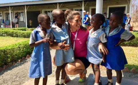 Espiras förskola i Zimbabwe fortsätter att utvecklas