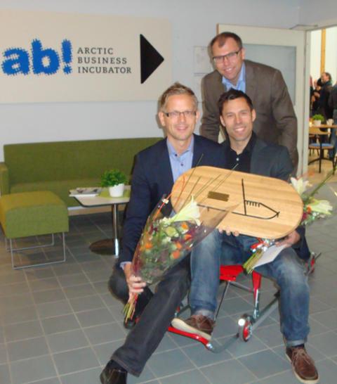 Ännu ett framgångsföretag lämnar Arctic Business Incubator