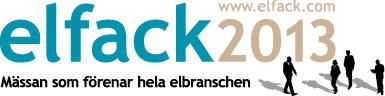 Hager på Elfack 13-17 maj 2013