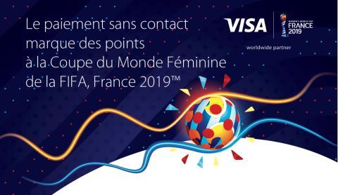 Le paiement sans contact marque des points à la Coupe du Monde Féminine de la FIFA, France 2019™