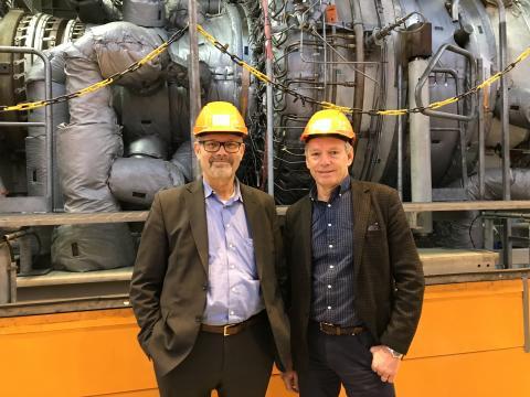 Göteborg Energi och Siemens i samarbete för fossilfri kraftvärme