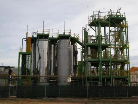 PERSEO Bioethanol� plant (IMECAL)
