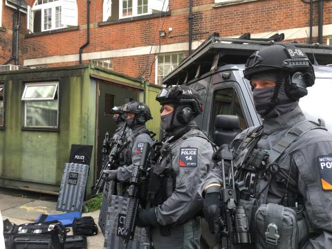 Armed officers increased to protect London