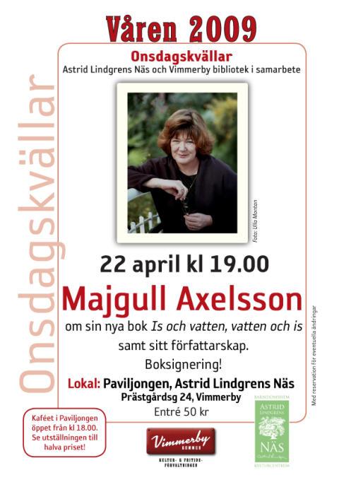 Onsdagskväll med Majgull Axelsson