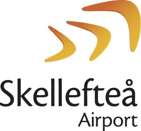 Fördubbling av passagerarna på Skellefteå Airport