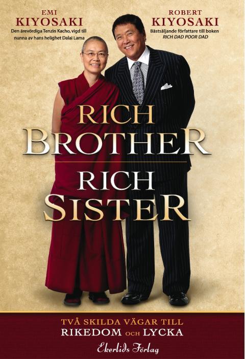 "Ny bok: ""Rich Brother Rich Sister"" av Robert Kiyosaki och Emi Kiyosaki"