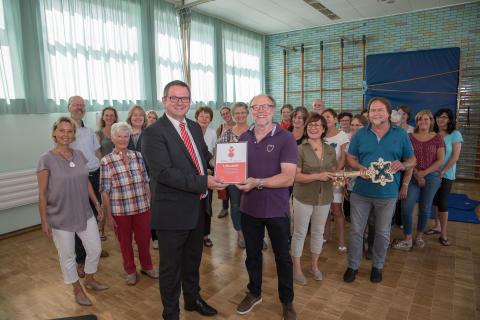 Engagement lohnt sich immer: Auszeichnung für den TV Steinforth-Rubbelrath