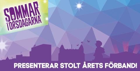 Sommartorsdagarna® 2016 presenterar stolt årets förband!