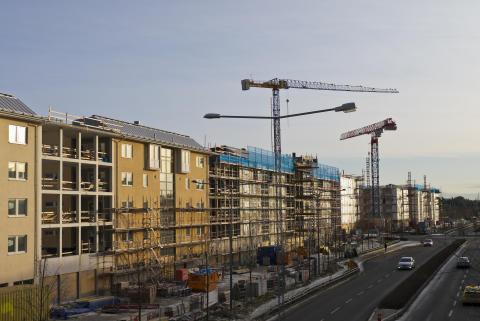 Programvara främjar bostadsbyggandet i Sverige