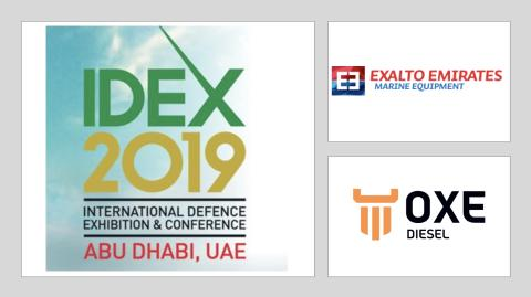IDEX, International Defense Exhibition and Conference, 17-21 February