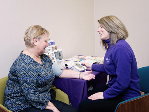 Eight GP referrals as almost 30 Bournemouth shoppers receive free blood pressure checks at Vision Express