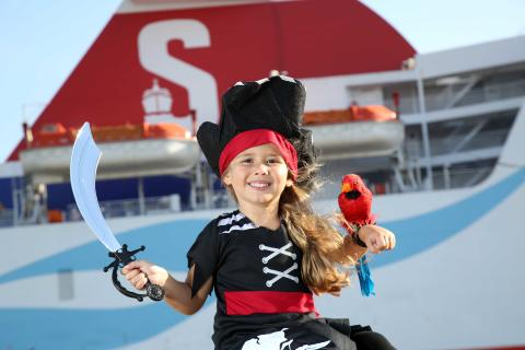 Shiver me timbers! All aboard for a Pirates and Princesses Cruise