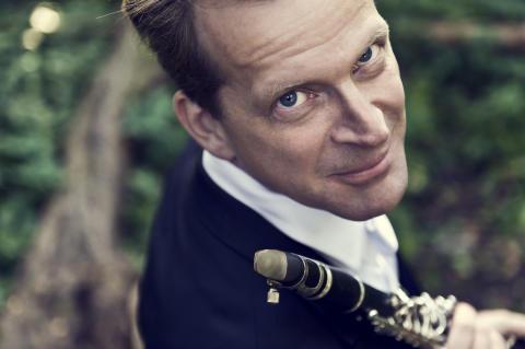 Staffan Mårtensson, klarinettist, får Kungens medalj Litteris et artibus 2014. Foto: Carl Thorborg.