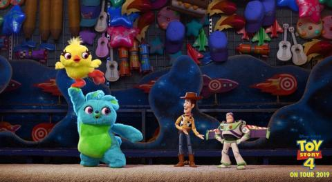 Toy Story 4 on tour!