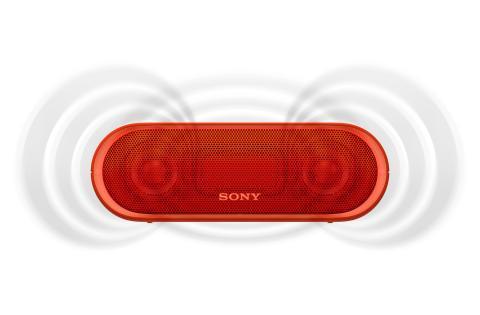 SRS-XB20 von Sony_rot_1