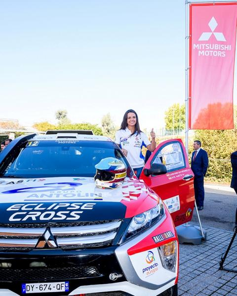 Eclipse Cross Dakar 2019