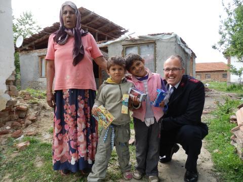 Frelsesarmeen starter prosjekt i Romania