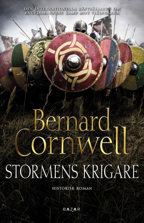 Stormens krigare av Bernard Cornwell - framsidesbild
