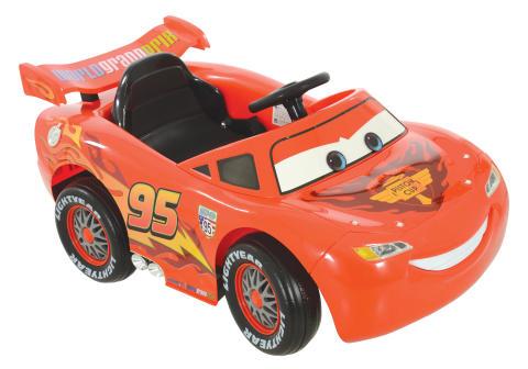 MV Sports - Lightning McQueen 6V ride on