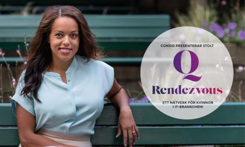"""Elaine Eksvärd om sin medverkan på Q Rendezvous: """"Jag älskar att prata inför kvinnor på mansdominerade arbetsplatser"""""""