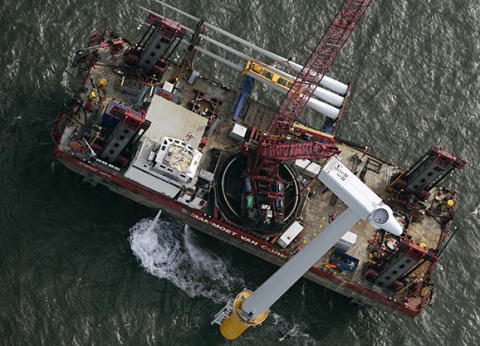 Port of Mostyn confirmed for Gwynt y Môr turbine installation