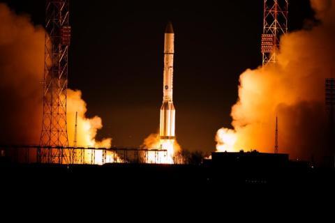 Le satellite EUTELSAT  9B en route vers les étoiles