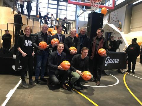 Realdania, Det Obelske Familiefond, TrygFonden, Nordea-fonden og Lokale og Anlægsfonden har støttet GAME Streetmekka Aalborg
