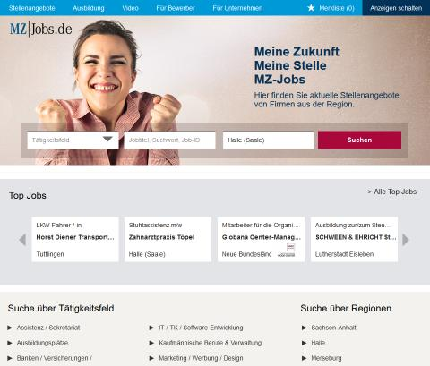 MZ-Jobs: mit frischer Optik und vielen neuen Funktionen