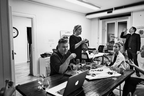 Rutabaga - Preperations at the office