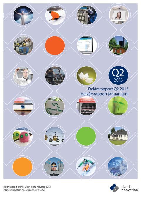 Inlandsinnovations Q2 och halvårsrapport 2013