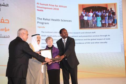 Rakai Health Sciences Program Co Founders and HH Amir