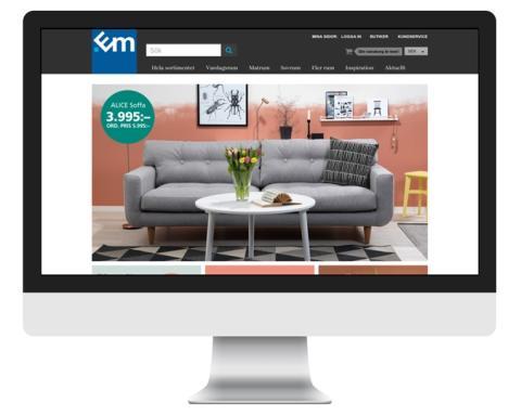 EM Möbler fortsätter sin omnikanalsatsning och lanserar e-handel