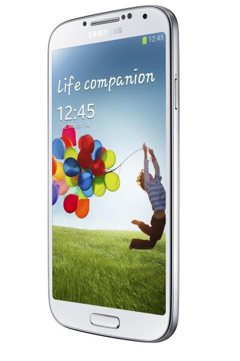 Full fart med Samsung Galaxy S4!